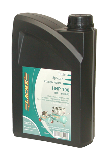 Huile spéciale compresseur HHP100 bidon 2L