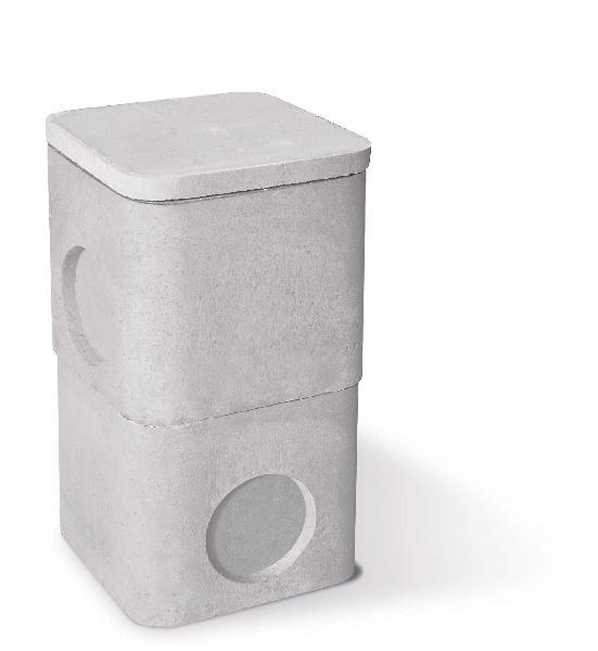 regard beton 40x40 rehausse hauteur 40. Black Bedroom Furniture Sets. Home Design Ideas