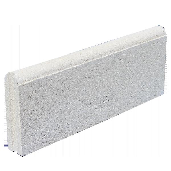 Bordurette DROITE Ep.5x20x50cm pierre