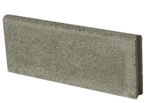 Bordure P4 20x50cm H.5cm grise