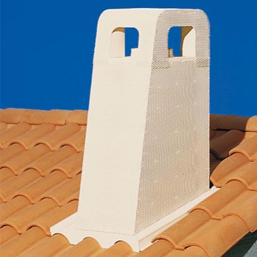 Sortie de toit STP 230 PROVENCE Ø230mm à enduire 30% ocre