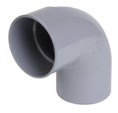 Coude PVC Ø80mm mâle-femelle 87° CR8