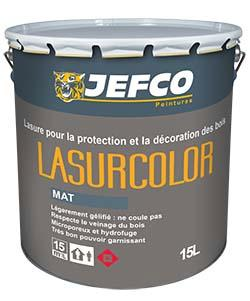 Lasure longue durée alkyde LASURCOLOR mat incolore base TR 4L