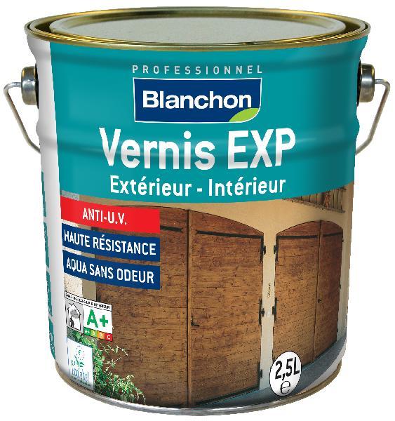 Vernis bois EXP intérieur/extérieur PU phase aqueuse satiné 2,5L