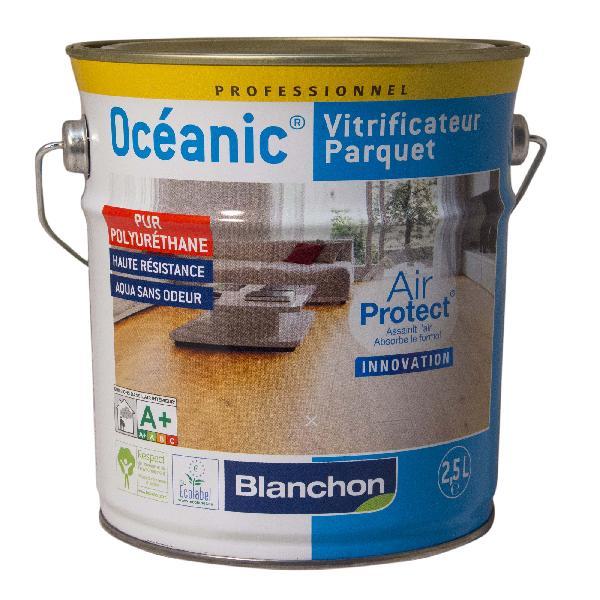 Vitrificateur parquet OCEANIC bois brut 2.5L