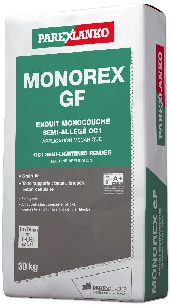 Enduit monocouche MONOREX GF G00 sac 30Kg