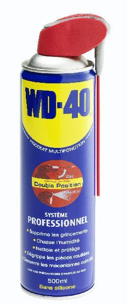 Huile multi-usages WD40 système pro 0,5L