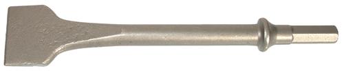 Burin large acier 175x32mm pour marteaux-burineurs