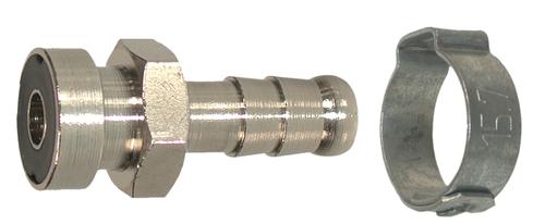 Raccord baionnette pour tuyau Ø8 RAC210