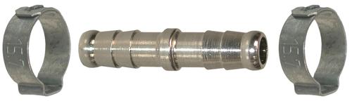 Raccord cannelé pour tuyau Ø8