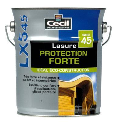 Lasure protection forte LX545+ acrylique satinée chêne clair bidon 1L