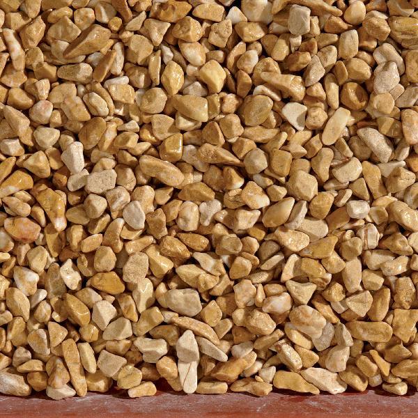 Gravillon roulé 7/15mm giallo mori sac 25 kg