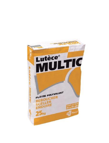 Plâtre multifonction LUTECE MULTIC sac 25kg