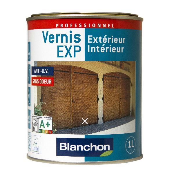 Vernis bois EXP intérieur/extérieur PU phase aqueuse chêne clair 1L