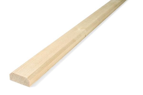 Couvre joint volet sapin 21x48mm 2,20m