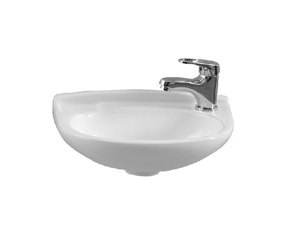 Lave-mains ARKITEKT blanc 40x26cm NF