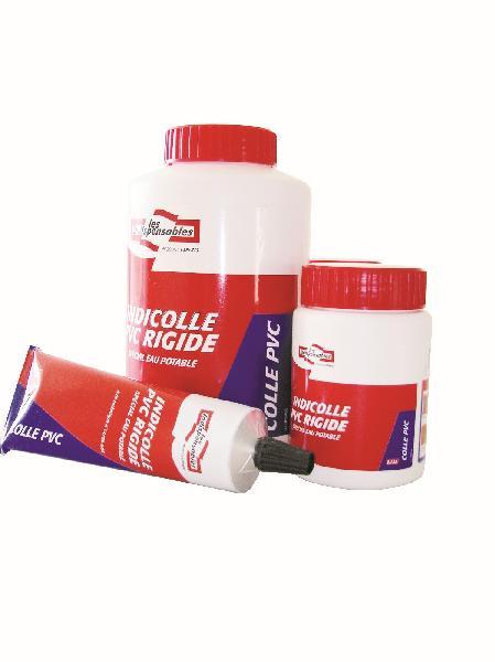 Colle pour tubes et raccords PVC LES INDISPENSABLES eau potable 125ml