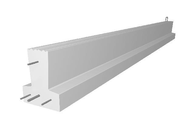 Poutrelle béton précontraint PERFORMANCE 115SX SE 4,20m