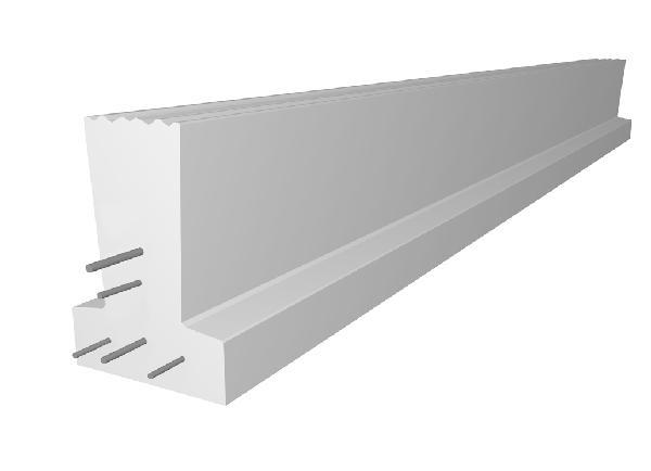 Poutrelle béton précontraint PERFORMANCE 136 SE 4,10m