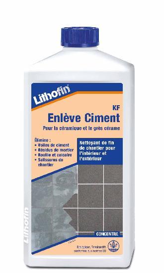 Nettoyant enlève ciment bidon 1L