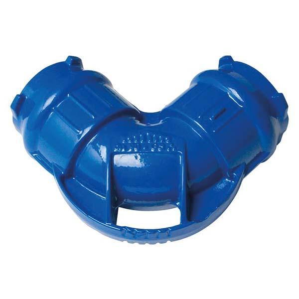 Coude pour tuyau PE-PVC Ø110 90°-1/4 IZIFIT® +joint IZIFIT