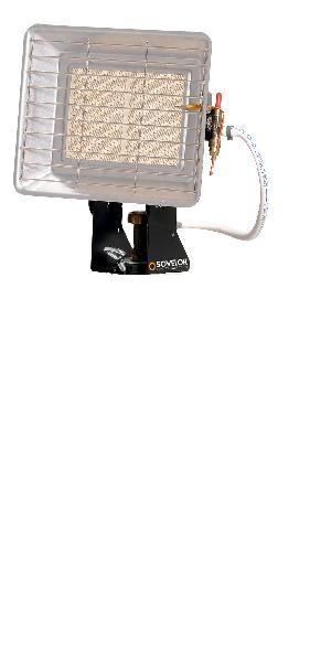 Chauffage radiant mobile plein air gaz 4,2kW