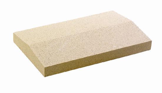 Couvertine 2 pentes 100x30cm ton pierre