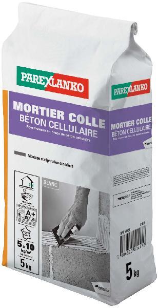 Mortier colle béton cellulaire 561 sac 5kg