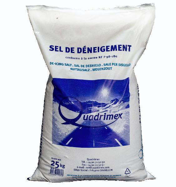 Sel de déneigement semi humide sac 25kg