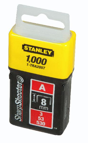 Agrafes type A 8mm boite 1000 pièces