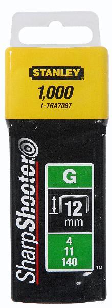 Agrafes type G 12mm boite 1000 pièces