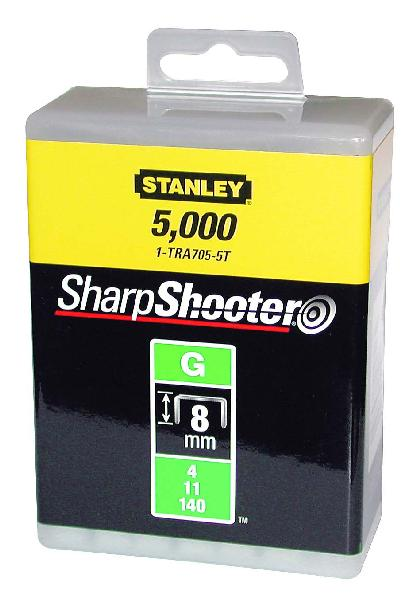 Agrafes type G 8mm boite 5000 pièces