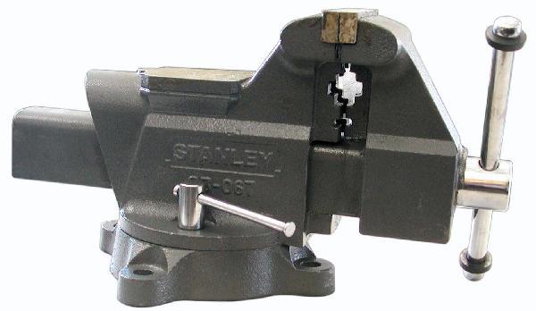 Etau d'établi MAXSTEEL 125mm 1800mm