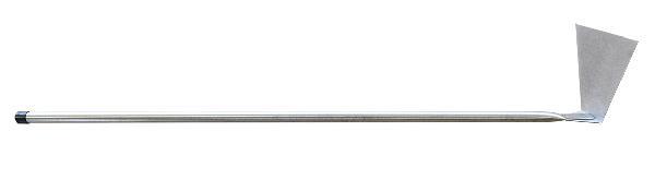 Raclette acier pour four à bois 101x20cm