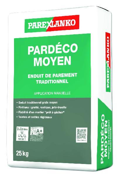 Enduit PARDECO moyen O80 25Kg