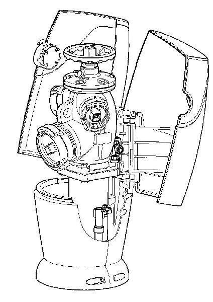 Kit complet de réhabilitation pour coffre EMERAUDE alu DN100 >1968