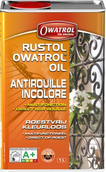 Antirouille pénétrant RUSTOL OWATROL multifonctions 1L