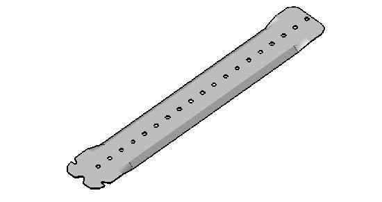 Suspente P30 300mm boite 50