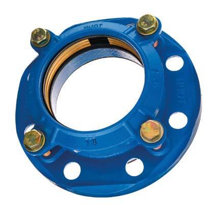 Adaptateur SR6 DN080 pour tuyau PE-PVC Ø75 ISO PN10-16