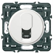 Prise téléphone Rj45 Céliane composable blanc