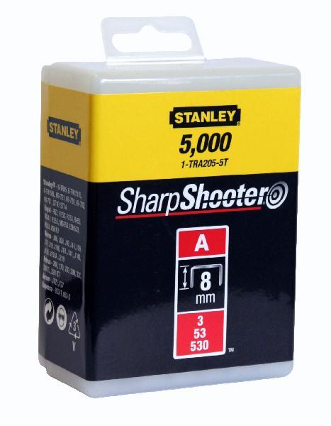 Agrafes type A 8mm boite 5000 pièces