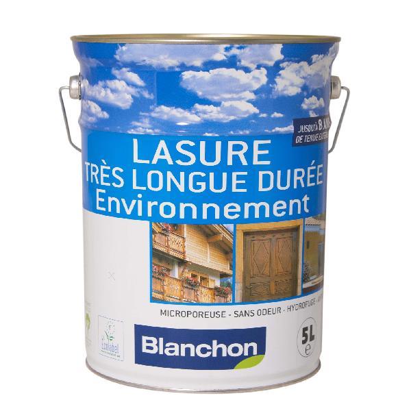 Lasure environnementale acrylique gélifié satinée incolore bidon 5L