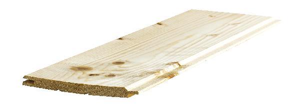 Lambris épicéa choix AB grain d'orge 12x135mm 2,50M paquet de 10 lames
