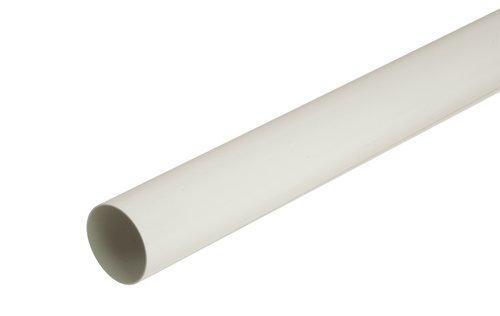 TUYAU DESCENTE PVC BLANC 4M TD80B