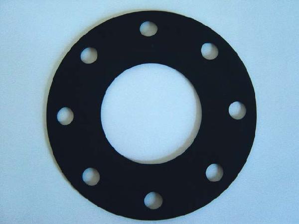 Joint plat SBR DN125 granuleux 1 plis toilé ISO PN10-16 7bar 4mm