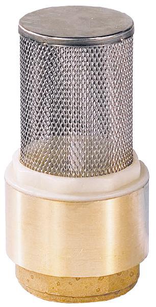Clapet crépine anti retour laiton femelle 50/60 à tamis 12/10°