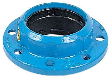 Bride fonte MAJOR STOP Ø125 pour fonte 144mm ISO PN10 à PN16