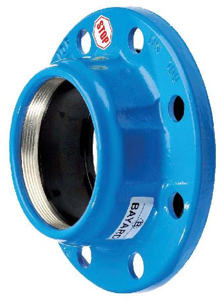 BRIDE FONTE MAJOR STOP DN125 POUR PVC-U/PE Ø125 ISO PN10-16