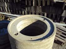 Réhausse sous cadre béton pour regard Ø800 H.10cm