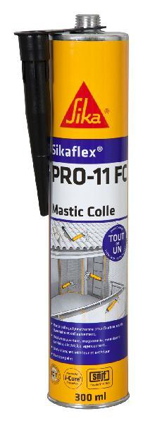 Mastic colle SIKAFLEX PRO 11FC PU noir cartouche 300ml
